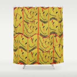 Who Watches The Watch Ones? Shower Curtain