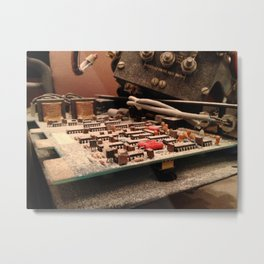 Theatre Equipment (1) Metal Print