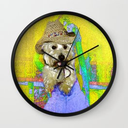 West Highland White Terrier - Ready To Go? Wall Clock
