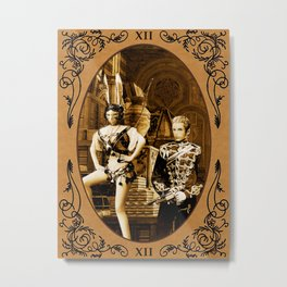Touch the Sky - Final Fantasy XII, Blathier & Fran Metal Print