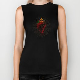 Sacred Strawberry Biker Tank
