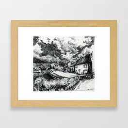 Guest House  Framed Art Print