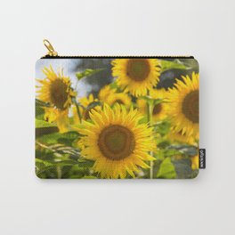 Sunflowers happiness Carry-All Pouch