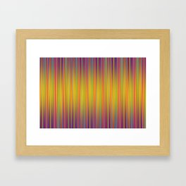 Lines 177 in Gold Framed Art Print