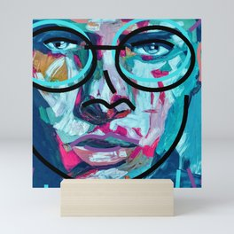 Face Mini Art Print