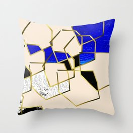 LOOKING AT THE SEA AND MY LOVE. WALKING IN PURSUIT OF PEACE. Throw Pillow