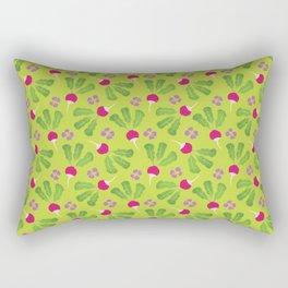 Radish Garden Rectangular Pillow