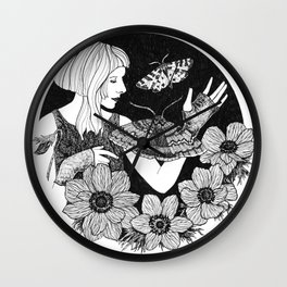 Daydreamer (Aurora Aksnes) Wall Clock