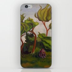 Robot in Forest iPhone & iPod Skin