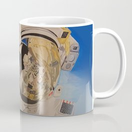 Astronaut in space, man. Coffee Mug