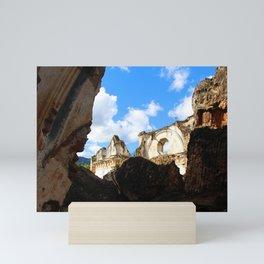 Among the rubble - Antigua Guatemala Mini Art Print