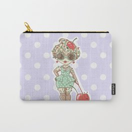 Cherry Sundae, Ice Cream Girl. Living in a sweet sweet world. Carry-All Pouch