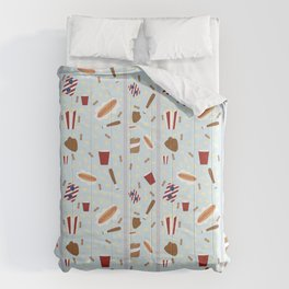 Take me out to the ball game Comforters