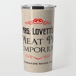 Mrs. Lovett's Meat Pie Emporium (Sweeney Todd) Travel Mug