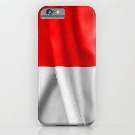 Indonesia Flag iPhone Case