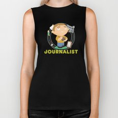 Journalist Biker Tank