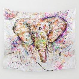 Elephant // Sananga Wall Tapestry