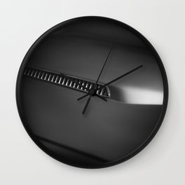 Detail of a history Wall Clock