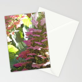 Cascading Flowers Stationery Cards