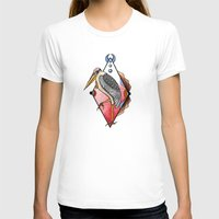 "crane T-shirts featuring ""CRANE"" by Magdalena Sky - The Moth"