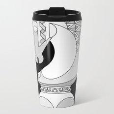 Chess Knight Metal Travel Mug