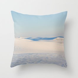 Ombre Sands Throw Pillow