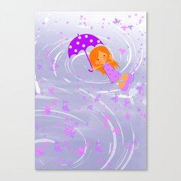 Melomuñequita poppins Canvas Print