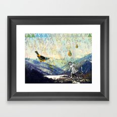the early girl gets the bird Framed Art Print