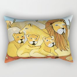 Noah's Ark - Lion Rectangular Pillow
