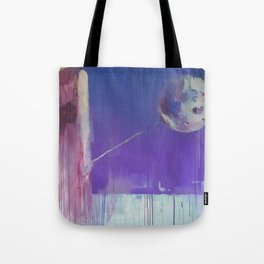 Dreams Are As Near As The Moon Tote Bag