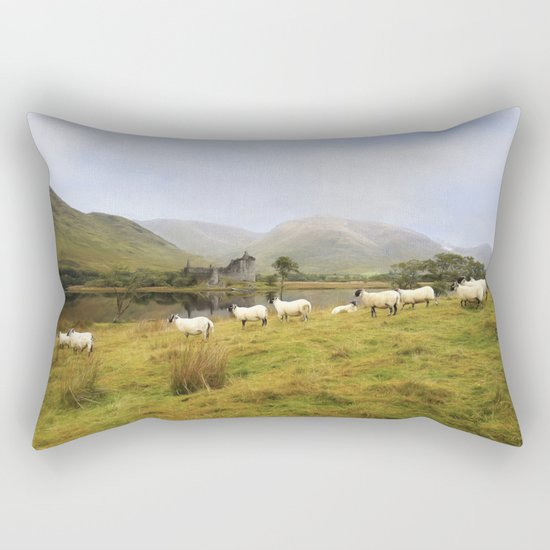 Morning at Kilchurn Rectangular Pillow