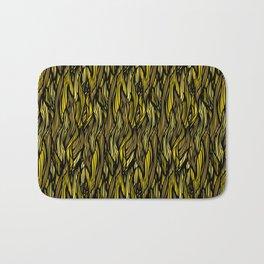 Hair Pattern Bath Mat