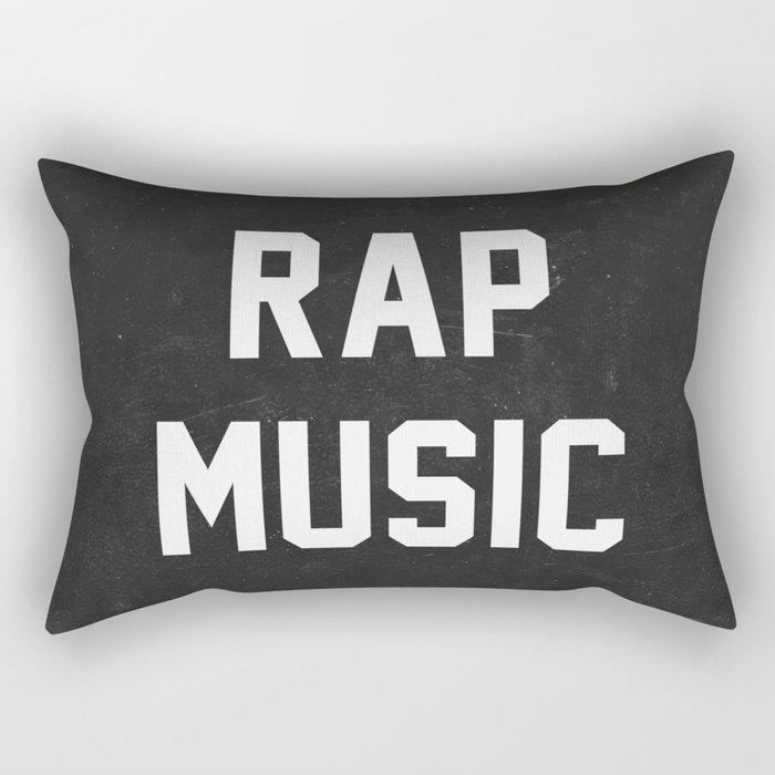 Rap Music Rectangular Pillow