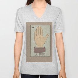 La Mano Card Unisex V-Neck
