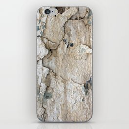 White Decay IV iPhone Skin