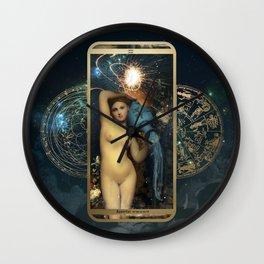 Zodiac : Aquarius Wall Clock