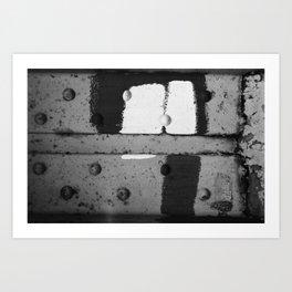 Roshach Test #13 Art Print