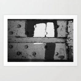 Roshach Test #13 Art Print