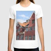 copenhagen T-shirts featuring Copenhagen Sun by Abby Hoffman