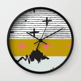 Space Theme Wall Clock