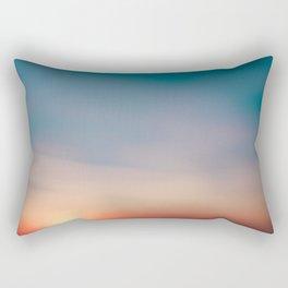 Sunset chill Rectangular Pillow