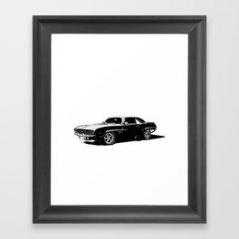 A. M. 1 Framed Art Print