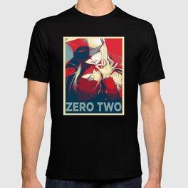 Zero Two Darling in The Franxx Propaganda T-shirt
