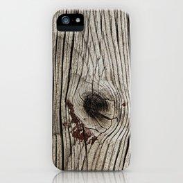 BC Wood Grain 2 iPhone Case