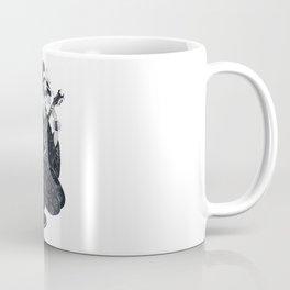 Black Metal Geisha Coffee Mug