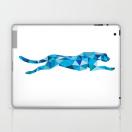 Cheetah Running Side Low Polygon Laptop & iPad Skin