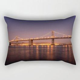Bay Bridge // San Francisco // California Rectangular Pillow