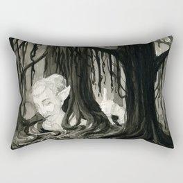 Lost in the Elfin Woods Rectangular Pillow