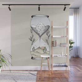 Time Is Running Out Wall Mural