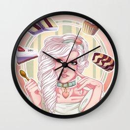 Lady Chantilly Wall Clock